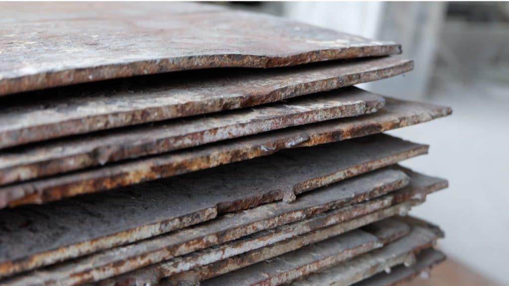 Stahlplatten Arbeitsunfall
